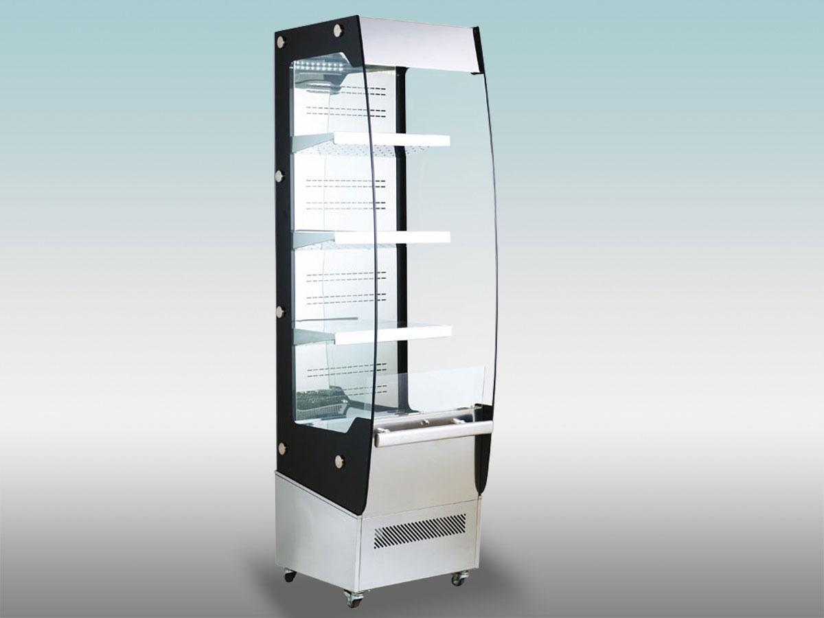 grande-photo-rc-220<hr >Caractéristiques Techniques<hr > Dimensions extérieures : 495 x 600 x 1750<hr > Dimensions intérieures : 480 x 585 x 1250<hr > Capacité en litres : 220<hr > Surface d'exposition (en m2) : N/A<hr > Température d'application : Positif + 2 ° + 10 ° C<hr > Puissance électrique en fonctionnement (W) : 830<hr > Puissance électrique en dégivrage (W) : Naturel<hr > Eclairage : LED<hr > Poids (en Kg) : 130<hr ><hr>Informations marchandises: Charcuterie / Fromage / IV gamme / Viande / Volailles<hr > Informations techniques : Dégivrage électrique / Eclairage LED / Froid ventilé / Groupe de condensation incorporé