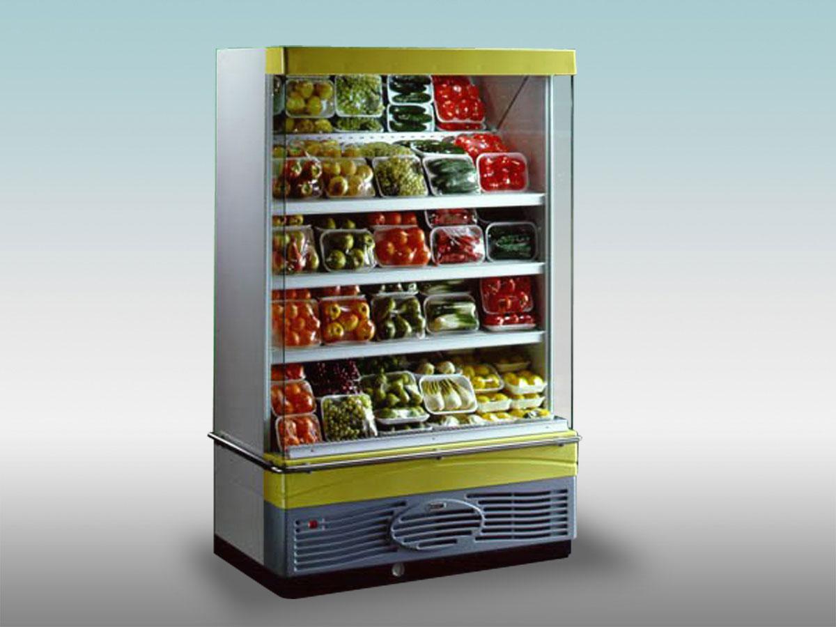 Vitrine verticale libre service Opera<hr >Caractéristiques Techniques<hr > Dimensions extérieures : 1300 x 720 x 1995<hr > Dimensions intérieures : 1210 x 480 x 1395<hr > Capacité en litres : 552<hr > Surface d'exposition (en m2) : 1.56<hr > Température d'application : Positif + 0 °C + 4 ° C<hr > Puissance électrique en fonctionnement (W) : 1070<hr > Puissance électrique en dégivrage (W) : 665<hr > Eclairage : LED<hr > Poids (en Kg) : 130<hr ><hr>Informations marchandises: Poisson pre-emballé/ Charcuterie / Fromage / IV gamme / Produits Laitiers / Viande / Volailles<hr > Informations techniques : Dégivrage électrique / Eclairage LED / Froid ventilé / Groupe de condensation incorporé