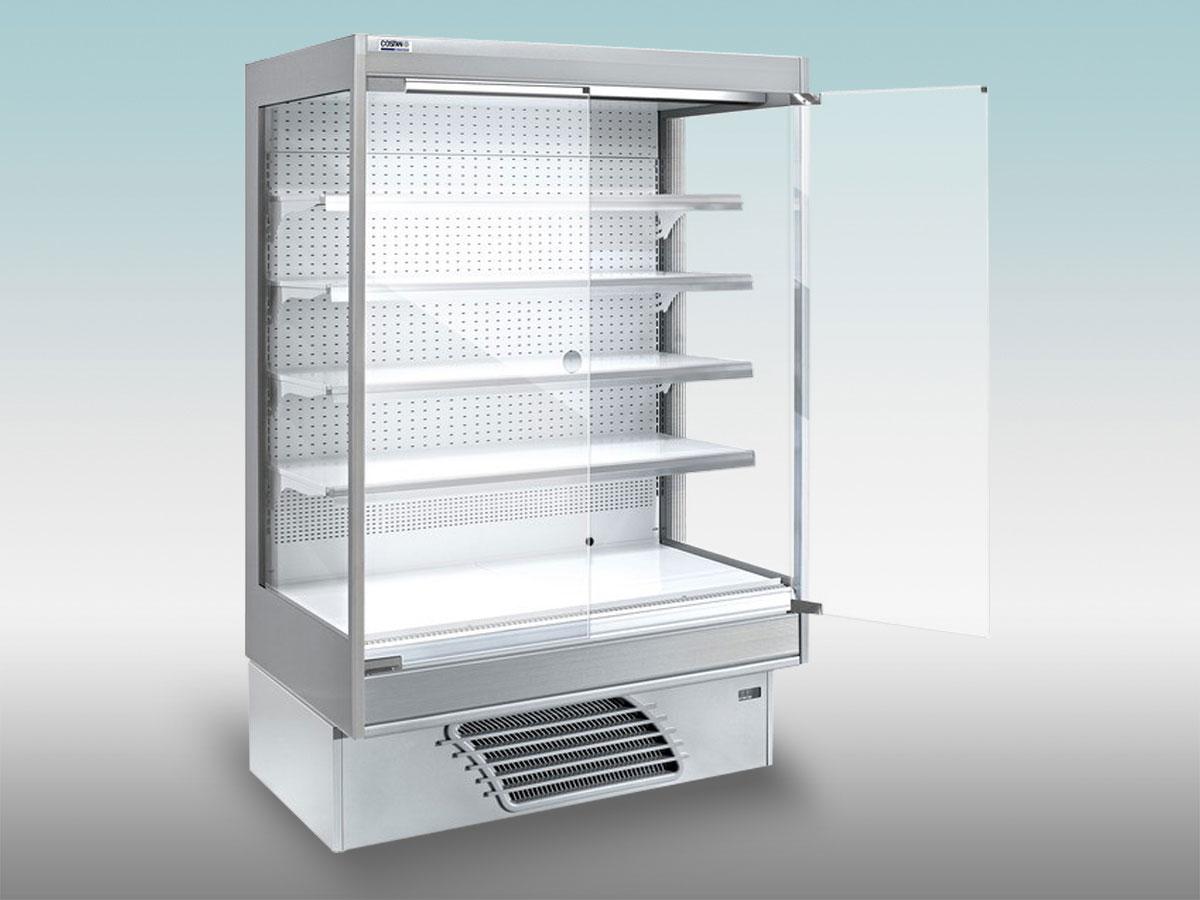 Vitrine verticalermonia<hr >Caractéristiques Techniques<hr > Dimensions extérieures : 1310 x 997 x 1935<hr > Dimensions intérieures : 1250 x 705 x 1340<hr > Capacité en litres : 307<hr > Surface d'exposition (en m2): N/A<hr > Température d'application : Positif + 0 °C + 4 ° C<hr > Puissance électrique en fonctionnement (W) : 1 150<hr > Puissance électrique en dégivrage (W) : naturel<hr > Eclairage : LED<hr > Poids (en kg) : 240<hr ><hr>Informations marchandises: Poisson pre-emballé/ Charcuterie / Fromage / IV gamme / Produits laitiers / Viande / Volailles<hr > Informations techniques : Dégivrage naturel / Eclairage LED / Froid ventilé / Groupe de condensation incorporé